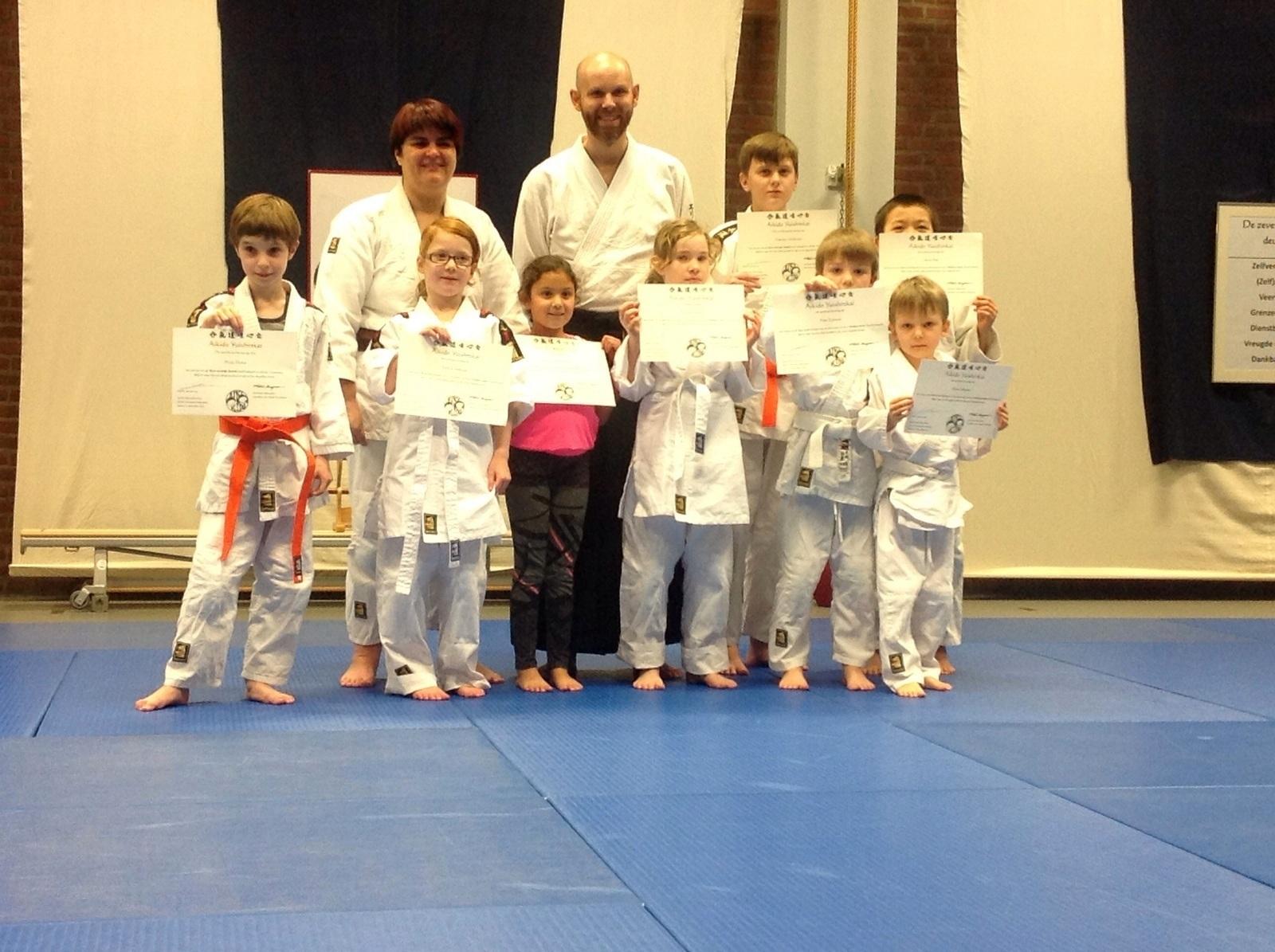 Ki Aikido Vereniging Rotterdam - Examens Jeugd 201512