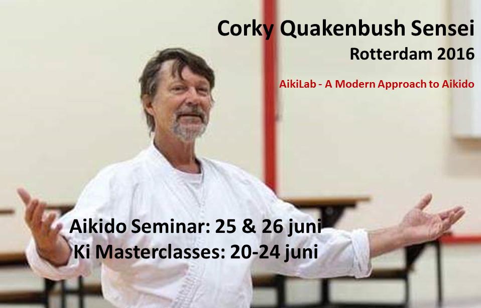 Corky Quakenbush Sensei - Seminar 2016