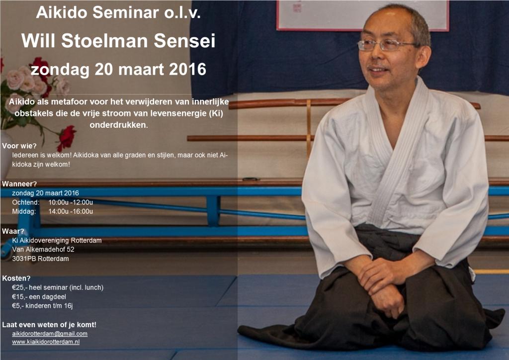 Uitnodiging Seminar 20 maart 2016